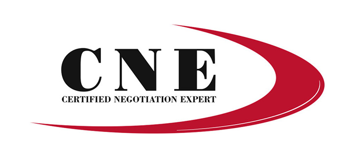 Certified Negotiation Expert certification badge