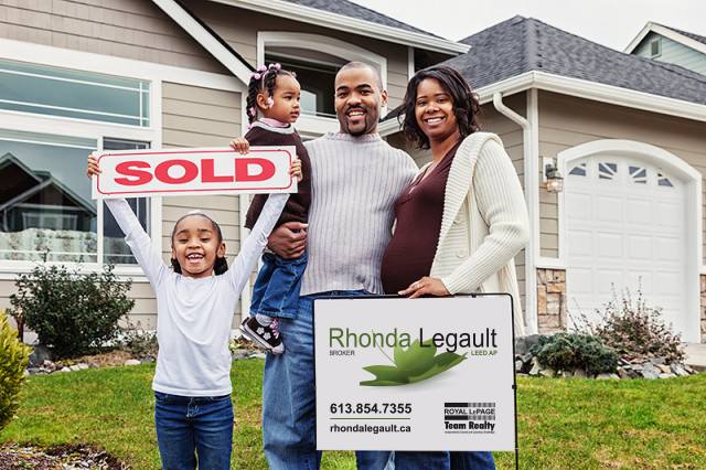 Rhonda Legault sold house to young family with kids